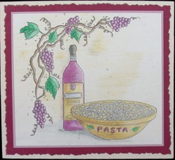 Pasta Bowl-Grapes